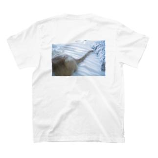 富士乃助くんのしっぽ T-shirts