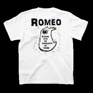SHOP ROMEO のhungry tai T-shirtsの裏面