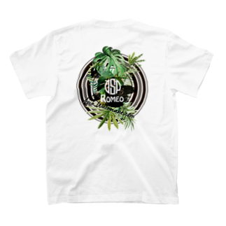 SHOP ROMEO のRomeo greenrogo T-shirtsの裏面