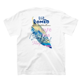 Blue Bird  Feather T-shirts