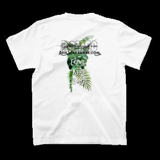 SHOP ROMEO のRomeo greenrogo 02 T-shirtsの裏面