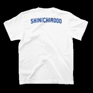 シンイチロォのおみせの爽やかロゴ!! T-shirts