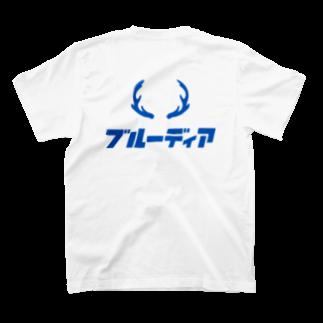 bluedeerのBLUE DEER T-shirtsの裏面