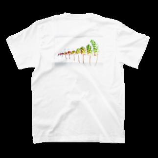 平澤ネムの虹の玉シャツ T-shirtsの裏面