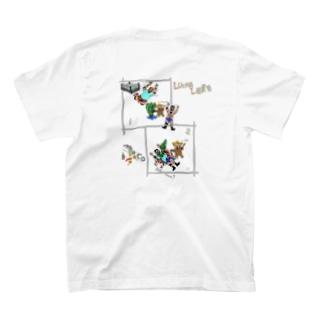 バックプリント【comic】LUCHALIBRE① T-shirts