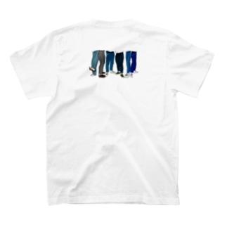 デニムの女の子 T-shirts