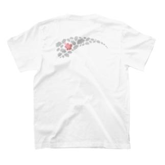 ロウニンアジ/G・T×ハイビスカス T-shirts