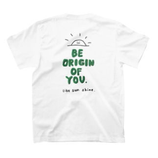 originT green T-shirts