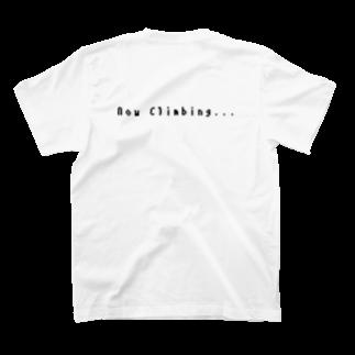 kzmy(くずみー)のNow クライミング T-shirts