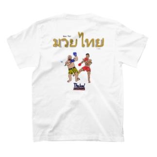 バックプリント【ムエタイ】 T-shirts