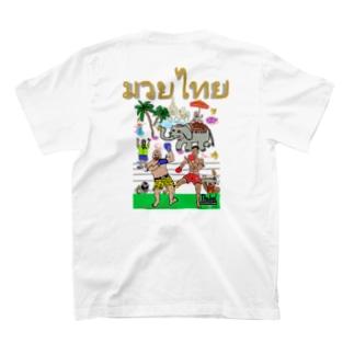 バックプリント【ムエタイDX】 T-shirts