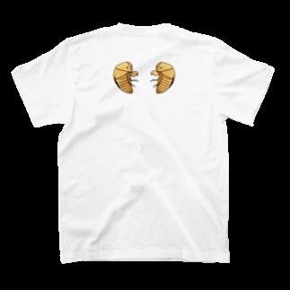 mugioの可愛いアイツのヌケガラ T-shirts