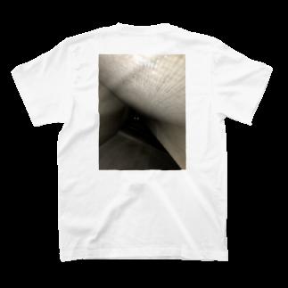 せーきゅーの店の落ちたねこ T-shirts