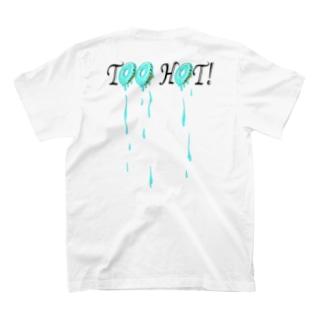 Too Hot! ブルー・ドーナツ(ドロドロ)T T-shirts