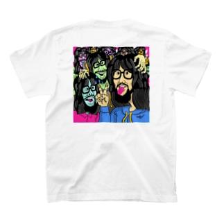 #なかむらしんたろうを拡張する展示のきくちゆうき T-shirts