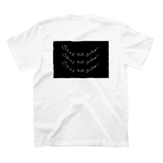 stay till sober tee back print  T-Shirt