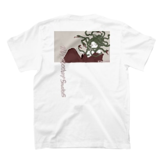 「my mother snakes」 ホワイト T-shirts