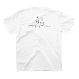 鉄塔両面 T-shirts