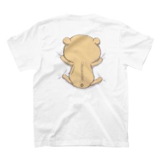 背中にくま T-shirts