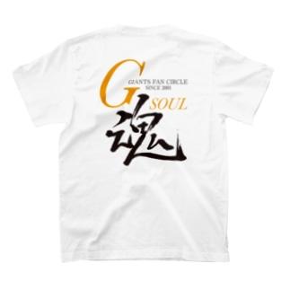 両面プリントTシャツ(1)淡色 T-shirts