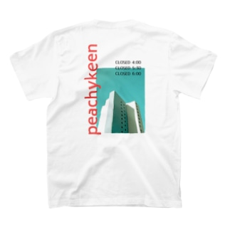 peachykeenのcity red T-shirts
