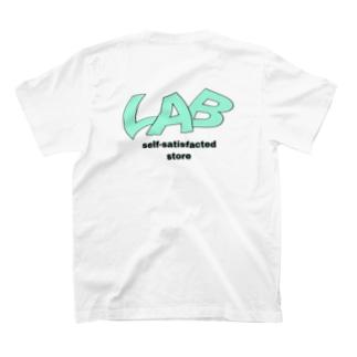 ジコマンストアロゴ(白) T-shirts