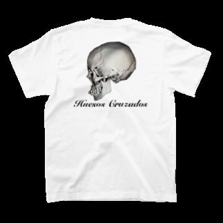 Huesos Cruzadosの#7 Huesos Cruzados  T-shirts