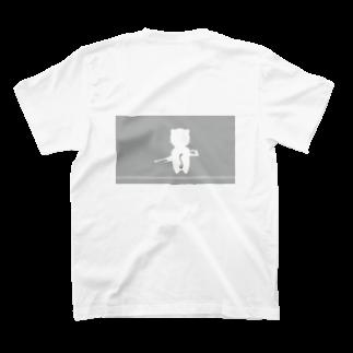 えびちゃんのショップの(ミルクチョコ)スナキャット T-shirts