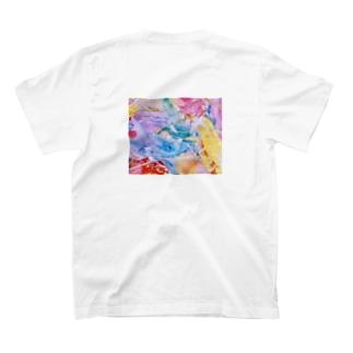 lalasandiegoのpalette.2(横ver.) T-shirtsの裏面