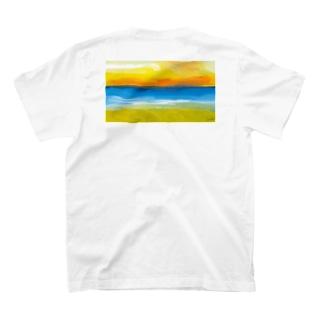 Stories by beach - Kamala T-shirts