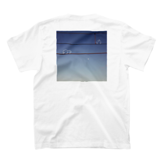 suishopの電線に集う鳥 T-shirts