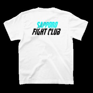竹下キノの店の札幌ファイトクラブ T-shirtsの裏面