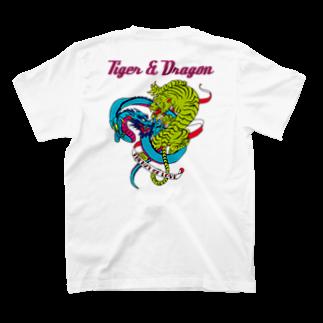 JOKERS FACTORYのTIGER & DRAGON T-shirtsの裏面