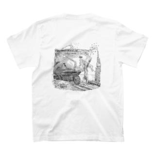 大型船 進水式 T-shirts
