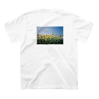 夏のおわりのひまわりさん🌻 T-shirts