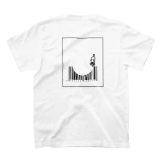 datsuのバースケート T-shirts