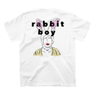 rabbit boy TEE T-shirts