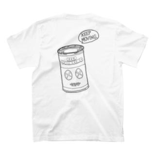 GEMENI-XのCAN-04(W) T-shirts