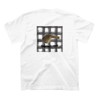 ハリネズミと筒 T-shirts