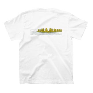 テトラポット バックプリント T-shirts