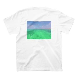 SUP*マリンブルー T-shirts