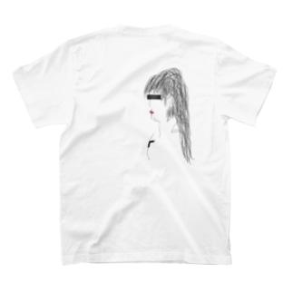 疑う女 T-shirts