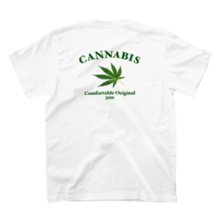 Comfortable®︎のCANNABIS by Comfortable T-shirtsの裏面