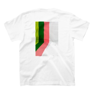 Green pink interior paint T-shirts