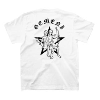 GEMENI-XのGEMENI-06[ふたご座](W) T-shirtsの裏面