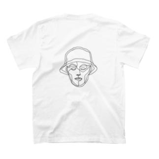 我的朋友T -monokuro- T-shirts