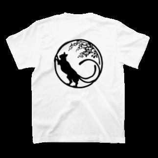 藤の和紋/猫又 T-shirts
