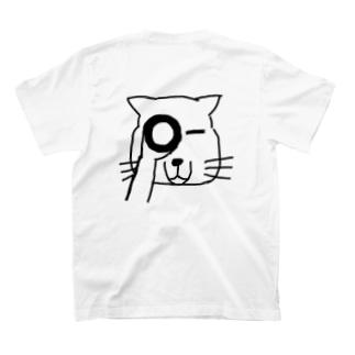 覗くチベスナさん T-shirts
