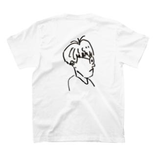 だれかのヨコガオ T-shirts