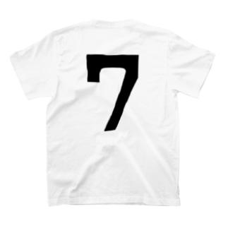7番 T-shirts